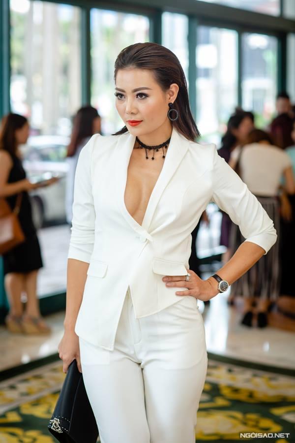 Thanh Hương đi dự một sự kiện cách đây không lâu.
