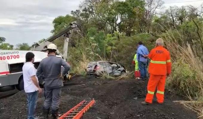 Hiện trường vụ tai nạn ở bang Minas Gerais, Brazil. Ảnh: FocusOn News.