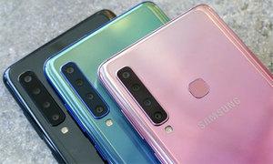 Galaxy A9 có 4 camera sau ra mắt