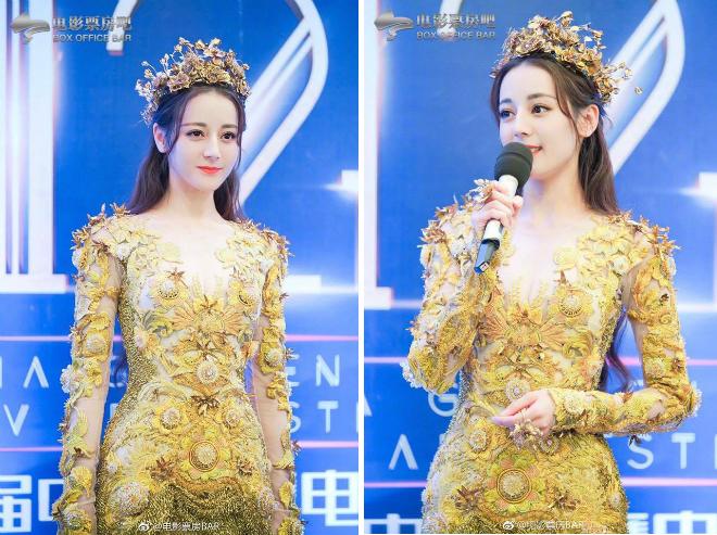 Mỹ nữ Tân Cương Địch Lệ Nhiệt Ba hóa thân Nữ thần Kim Ưng - 6