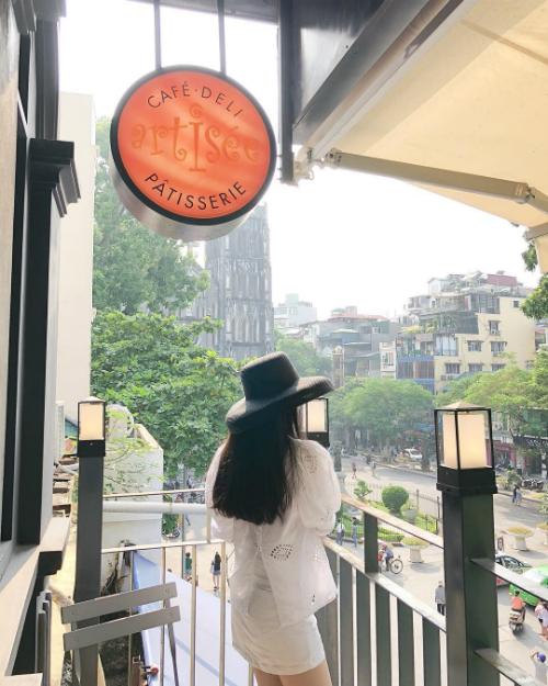 Những quán cà phê tận hưởng trời thu Hà Nội - 2