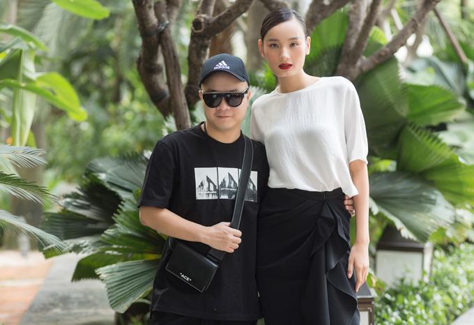 Đỗ Mạnh Cường không bao giờ vắng mặt trong các sự kiện đặc biệt của Lê Thúy. Anh là người đã nâng đỡ, giúp cô định hướng hình ảnh sau khi bước ra khỏi Vietnams Next Top Model.