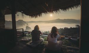 Quán cà phê cao hơn mây ở Thái Lan