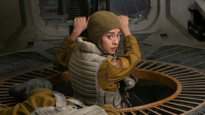 Ngô Thanh Vân đảm nhận một vai diễn trong bom tấn Hollywood Star Wars: The Last Jedi. Ảnh: IMDb