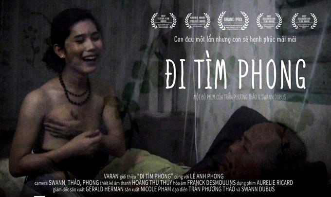 Cảnh phim Phong tâm sự với mẹ về sự đổi thay của cơ thể.