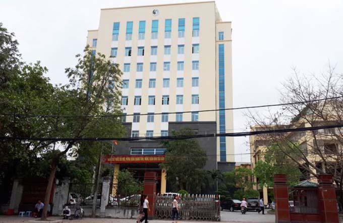 Sở Tài nguyên Môi trường tỉnh Thanh Hoá. Ảnh: Lam Sơn.