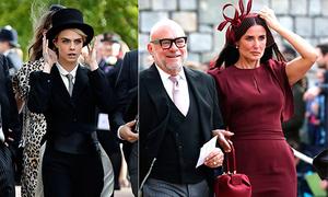 Sao tại lễ cưới của công chúa Anh