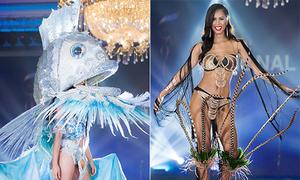Trang phục dân tộc độc đáo tại Miss Grand International