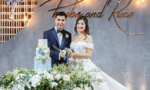 Đám cưới của mỹ nam TVB Trần Triển Bằng và mỹ nhân kém 13 tuổi