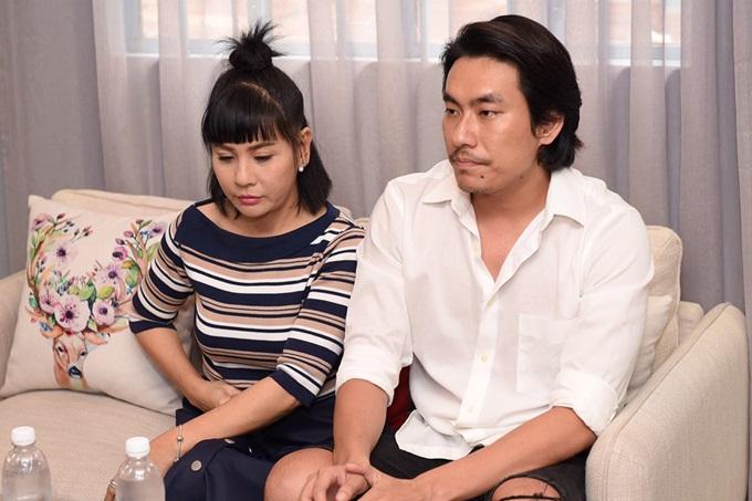 Vợ chồng Cát Phượng  Kiều Minh Tuấn họp báo xin lỗi công chúng