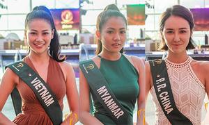 Đại diện Việt Nam được khen ngợi khi chụp ảnh mặt mộc tại Miss Earth