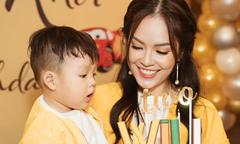 Dương Cẩm Lynh tổ chức sinh nhật chung với con trai