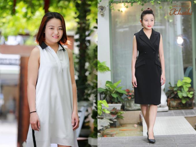 Chị Linh lấy lại vóc dáng thon gọn sau khi giảm 15kg nhờ liệu pháp D-Otesalycool S.