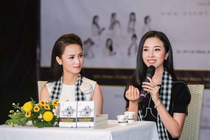 Thúy An cho biết rất vui khi được góp mặt trong hành trình ý nghĩa dành cho các bạn trẻ. Người đẹp chia sẻ việc đạt được thành công tại cuộc thi Hoa hậu Việt Nam 2018 khiến cô cần phải nỗ lực học hỏi, rèn luyện và trau dồi nhiều hơn. Điều này giúp cô có thêm hành trang trên bước đường sự nghiệp.