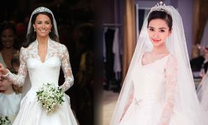 Top 9 váy cưới đẹp và đắt đỏ của người nổi tiếng