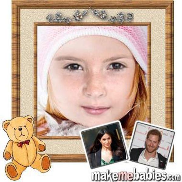 Con của Harry - Meghan sẽ có mái tóc màu đỏ và đôi mắt đen
