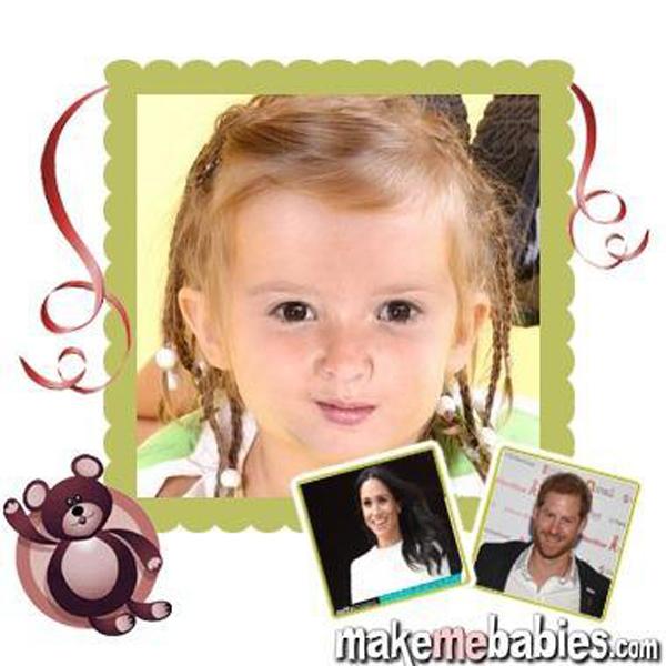 Con của Harry - Meghan sẽ có mái tóc màu đỏ và đôi mắt đen - 2
