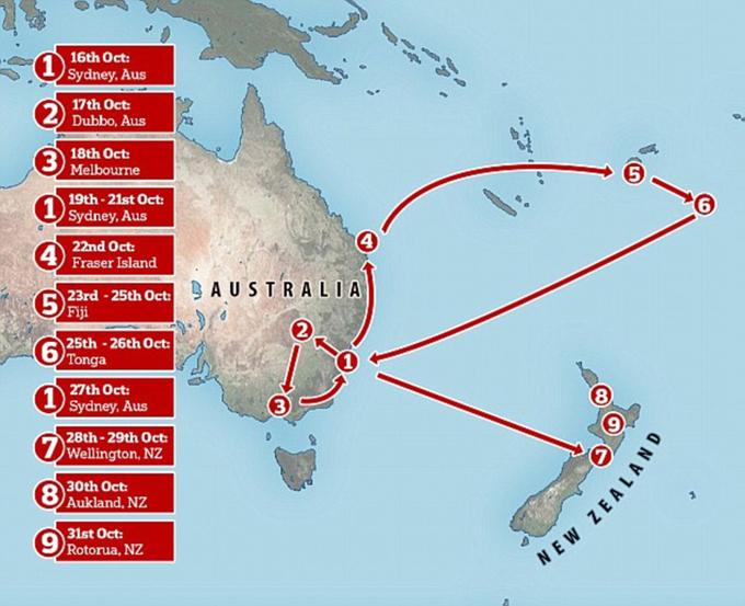 Vợ chồng Meghan - Harry bắt đầu chuyến công du 4 nước châu Úc - 2