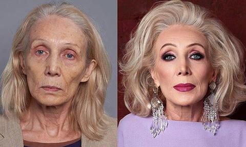 Sự thay đổi 'chóng mặt' của phụ nữ trước và sau khi trang điểm