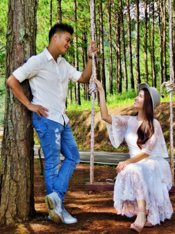 Vợ chồng Thanh Duy và Kha Ly có giây phút lãng mạn, riêng tư bên nhau tại SAM Tuyền Lâm Resort.