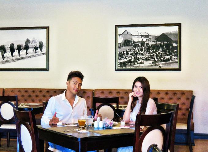 Sau thời gian hoạt động, thư giãn với tất cả các dịch vụ tại SAM Tuyền Lâm Golf & Resorts, Kha Ly và Thanh Duythưởng thứcbữa ăn tại nhà hàng Swiss-Belresort Tuyền Lâm. Nhà hàng mang phong cách hiện đại, không gian ấm áp, sang trọng, phục vụ ẩm thực đa dạng với đặc sản Đà Lạt, các món châu Á và phương Tây.