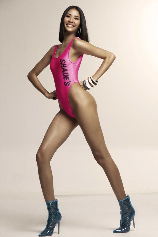 Á hậu thử nghiệm mốt bikini theo phong cách thể thao.