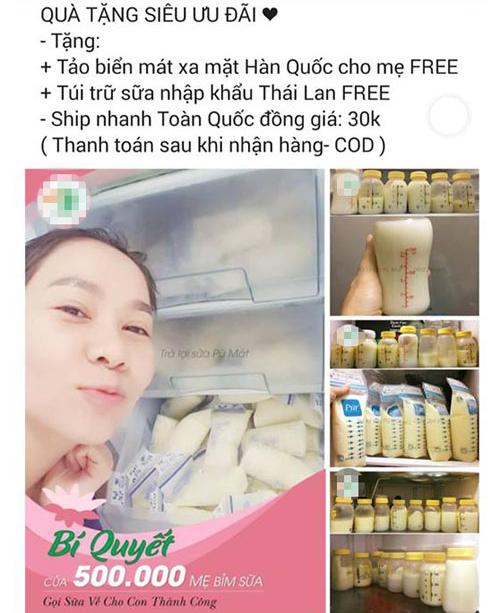 Hình ảnh Thu Minh bị đem ra quảng cáokhông đúng sự thật.