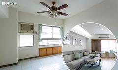 Nhà chung cư 40 năm 'biến hình' thành căn hộ hiện đại