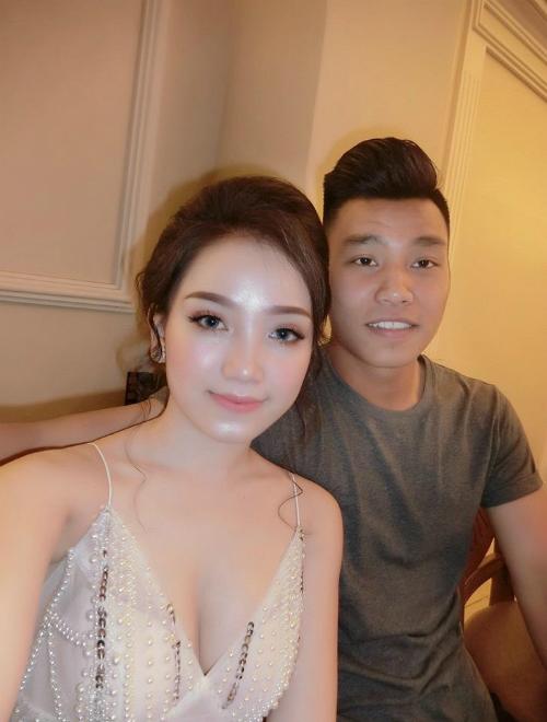 Bạn gái của Vũ Văn Thanh là Phùng Thị Bảo Trân, đến từ Gia Lai.