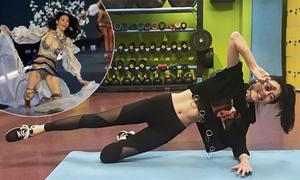Ming Xi tích cực tập luyện, chuẩn bị cho Victoria's Secret 2018