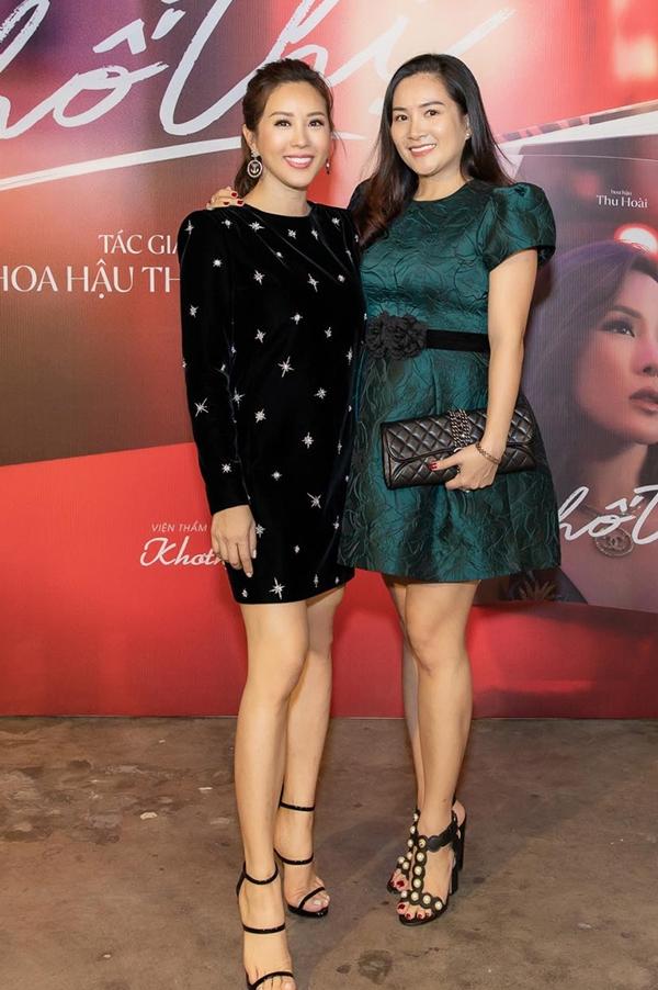 Anh Thơ - vợ Bình Minh - bày tỏ sự tâm đắc với nhiều chia sẻ của Hoa hậu trong cuốn sách.