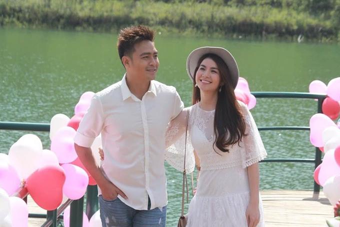 Vợ chồng diễn viên Thanh Duy - Kha Ly.