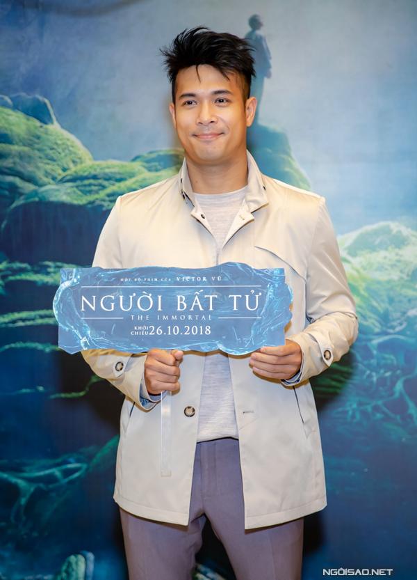 Nam diễn viên Trương Thế Vinh.