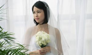 Những cách tạo kiểu cho cô dâu tóc ngắn