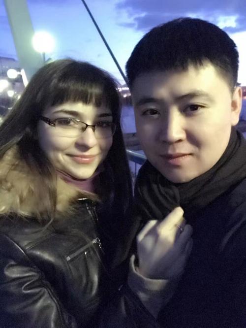 Lu và mẹ vợ người Nga.