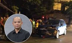 Xe của Anh Tuấn 'Những ngọn nến trong đêm' nát đầu vì tai nạn
