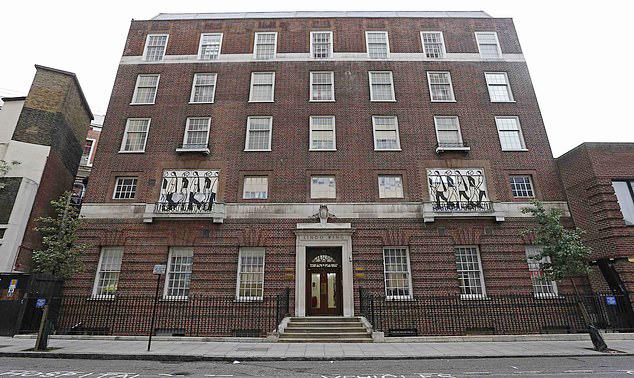 Khoa sản tư nhân cao cấp Lindo Wing, bệnh viện St. Mary, nơi Pippa và Kate sinh con. Ảnh: Nigel Howard.