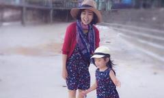Ảnh hot 18/10: Mai Phương đưa con gái thăm quê nội
