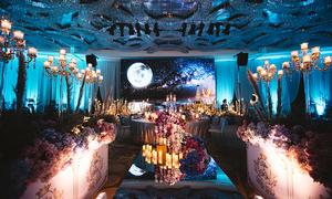 Tiệc cưới sang trọng lấy cảm hứng từ ánh trăng