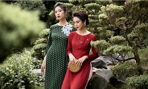 NEM ra mắt BST áo dài 'Hương sắc Việt' mừng ngày Phụ nữ Việt Nam