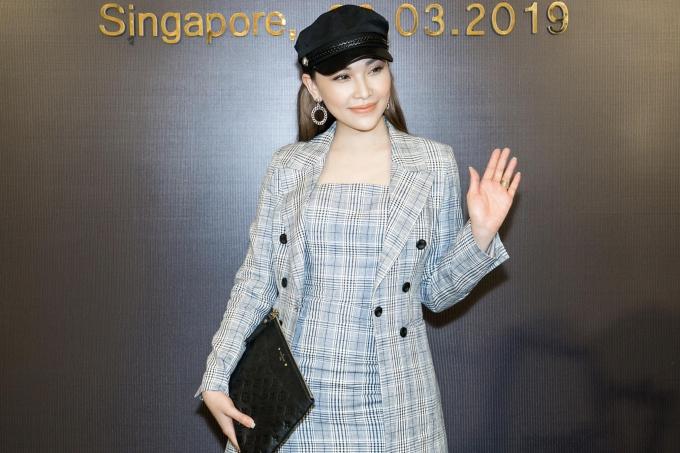 Người mẫu Quỳnh Thư nhiều lần sải bước catwalk trên sân khấu Đêm hội chân dài nên cảm thấy nhiều nuối tiếc khi chương trình sắp khép lại.