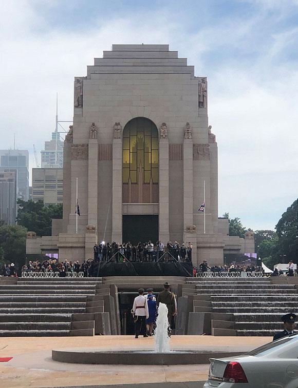 Đài tưởng niệm Anzac được thiết kế bởi Bruce Dellitt vào những năm 1930. Nơi đây được chọn khai trương bản nâng cấp mới vào năm nay nhằmkỷ niệm 100 ngày kết thúc Thế chiến thứ nhất.