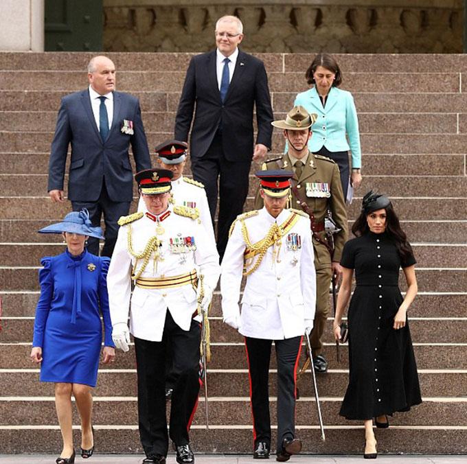 Chủ trì của buổi lễ khai trương đài tượng niệm được nâng cấp mới là Thủ tướng Australia Scott Morrison,Thủ hiến bang New South WalesGladys Berejiklian và Bộ trưởng Cựu chiến binh David Elliott.
