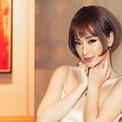 Angela Phương Trinh cắt tóc ngắn, nhuộm vàng