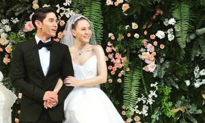 Đám cưới của mỹ nhân thị phi Thái Lan và chồng kém 10 tuổi
