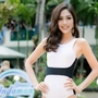 Bùi Phương Nga lộ hình thể mỏng khi thi bikini ở Miss Grand