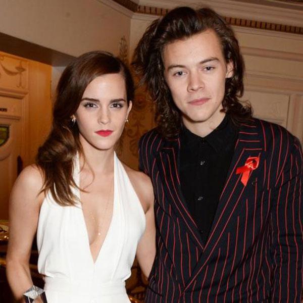 Harry Styles (cuối năm 2014): Khi Emma Watson và chàng ca sĩ nhóm One Direction ngẫu nhiên sánh đôi tại lễ trao giải British Fashion Awards vào ngày 1/12/2014, người hâm mộ gần như phát cuồng vì sự đẹp đôi của hai ngôi sao này. Mọi người háo hức ghép cặp Emma và Harry, sau đó họ đã thực sự vui sướng khi thấy ảnh hai người hẹn hò bí mật đi xem bóng đá. Tuy nhiên dường như cuộc tình này vừa chớm nở đã nhanh chóng tàn lụi vì sau đó chàng và nàng không còn được trông thấy bên nhau lần nữa.