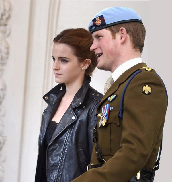 Hòang tử Harry (2015): Một trong những người tình tin đồn khác của Emma Watson là hoàng tử nổi tiếng của nước Anh. Khi tin đồn phát tán, mọi người đều rất thích thú và thầm mong điều này là có thật. Tuy nhiên Emma đã lên tiếng phủ nhận trên Twitter. Cô cho rằng các cô gái không cần có một hoàng tử để trở thành công chúa. Nữ diễn viên cũng nhắc nhở các fan: Hãy nhớ chúng ta từng nói đừng tin mọi thứ mà truyền thông viết phải không nào?.