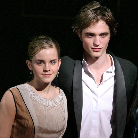 Robert Pattinson (cuối năm 2017): Tin đồn nữ diễn viên Harry Potter và tài tử Chạng vạng hẹn hò từng rộ lên vào cuối năm ngoái. Thời điểm này, cả hai cùng đang độc thân nên rất nhiều fan tin vào sự nên duyên giữa cô phù thủy với chàng ma cà rồng. Tuy nhiên Emma Watson chia sẻ trên New York Daily News: Chúng tôi chỉ là bạn, nhưng anh ấy chắc chắn là người rất tuyệt vời để cộng tác cùng.