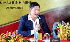 Bình Minh làm đại sứ sản phẩm sinh lý nam